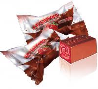 Конфеты шоколадные клубничка